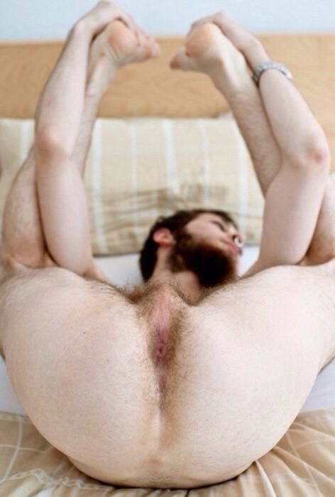 image Bi redneck stretches and barebacks dad