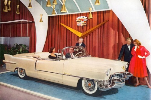Cadillac showroom