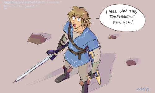 #link gets all of the bitches #botw
