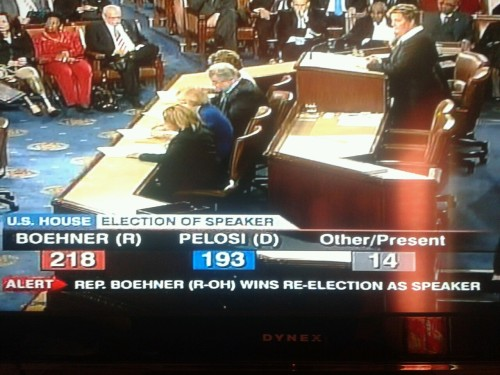 "BREAKING: Incumbent Speaker of the House John ""Worst Speaker Yet"" Boehner retains Speakership."
