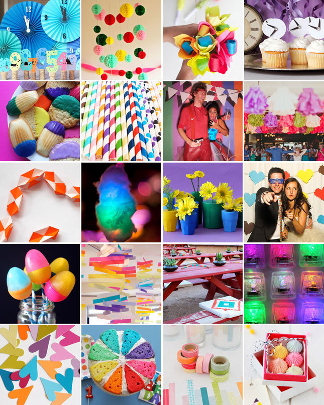 Ready for the most colorful New Year's Eve ever? Here are 20 ways to make it happen.