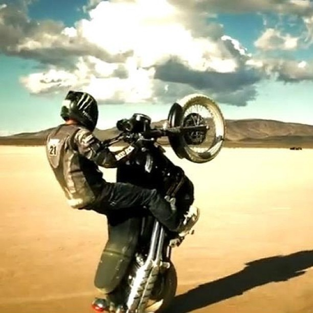 Stop what you're doing & go watch this exclusive #triumph #motorcycle video - http://www.ironandair.com/journal