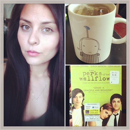 Straight hair/Green tea/Perks of being a wallflower.