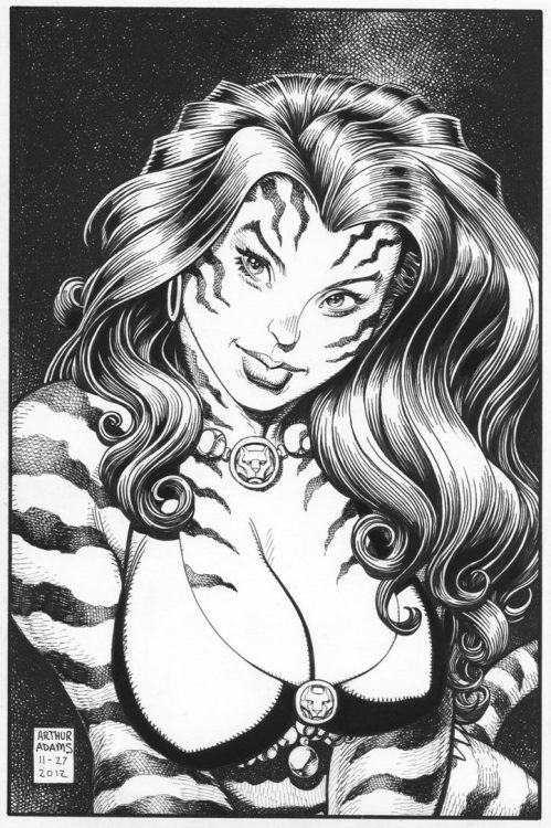 Tigra by Art Adams