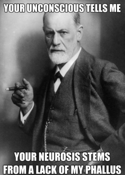 pseudobollocks:  —Freud