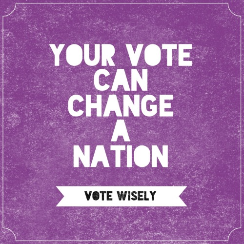 Philippines! Vote wisely!