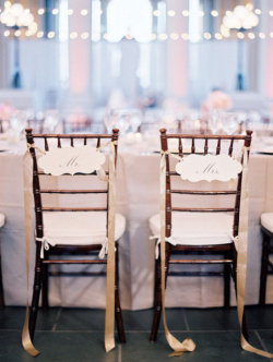 Lovely Mr. & Mrs. Chairs | Photography By Clary Photo