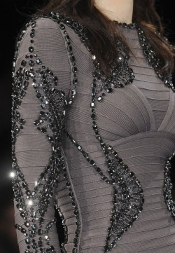 Herve Leger by Max Azria Fall 2013 Runway Details