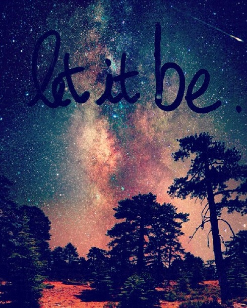 beatrizpoveda:  LET IT BE.