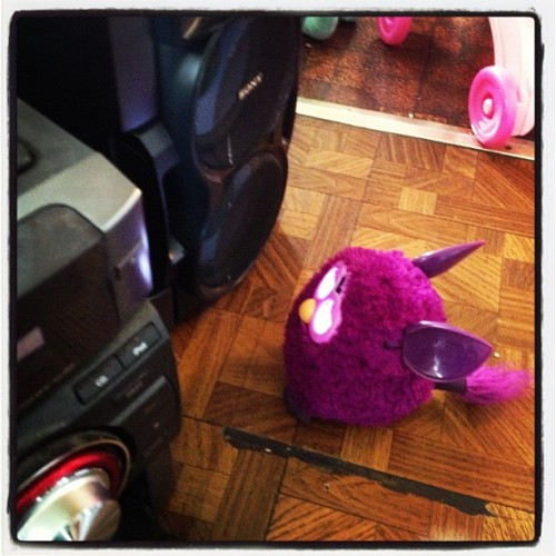 ladysigny:  My daughter's #furby rocking out to old school #mariahcarey.
