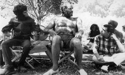 Charlton Heston was sick during much of the film with the flu. Rather than wait for him to get better, the producers felt that his hoarse voice added something to the character of Taylor. Planet of the Apes (1968)