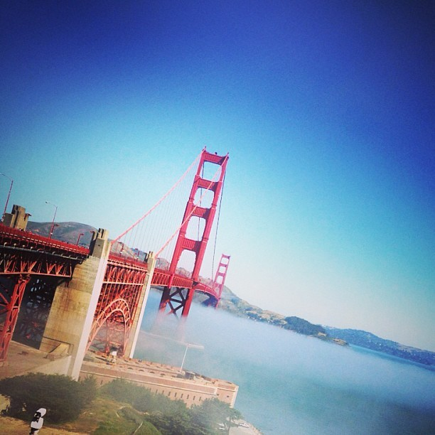 à Golden Gate Bridge