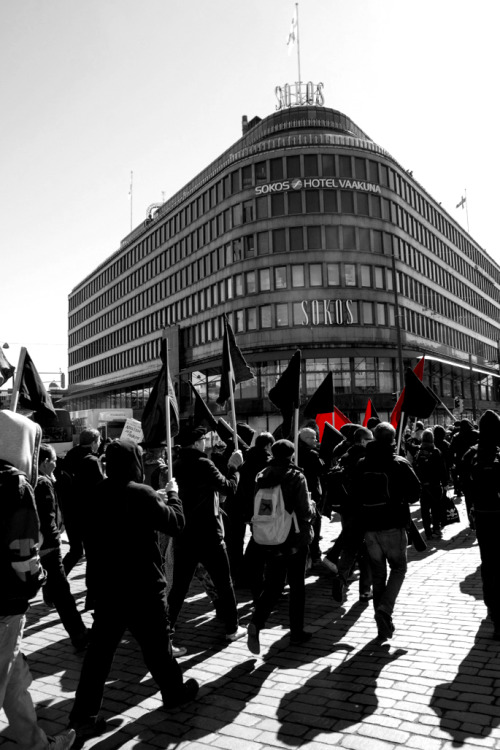 nebenwiderspruch:  Anarchists in Helsinki 2013