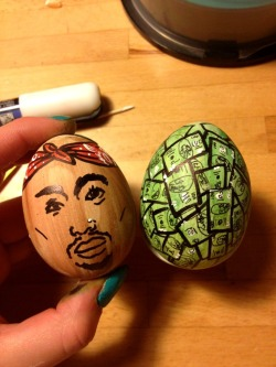 paloma-demanet:  Happy Thug Life Easter