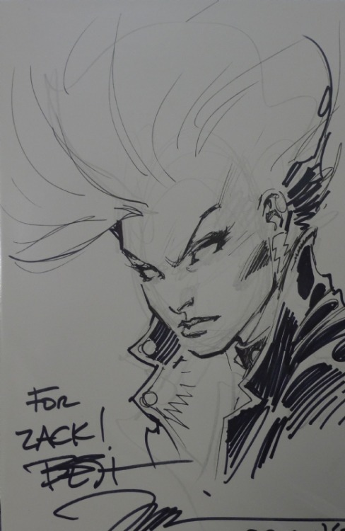 alexhchung:  Mohawk Storm by Jim Lee!