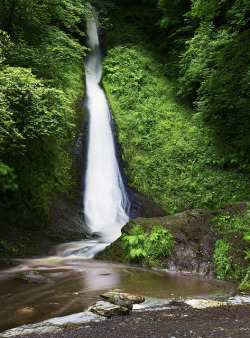 Whitelady Waterfall ♦ Lydford, England | by Michael Mehl