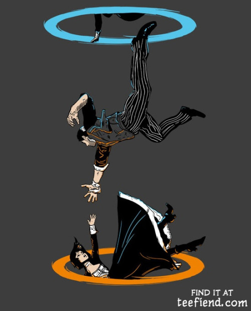 "teefiend:  ""The Infinite Loop"" by Moysche is only $12 today at Qwertee http://www.teefiend.com/4749/the-infinite-loop/"