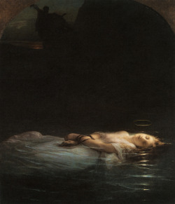 ~ Paul Delaroche, The Young Martyr, 1853