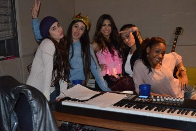 After two months apart, The X Factor finalists Fifth Harmony are back in unison as they hit therecording studio for their first sessions as an official group…read more here