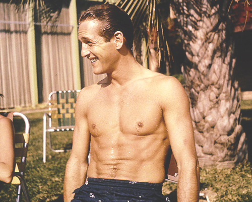 Paul Newman photographed by Gene Lesser, April 1962