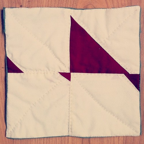 One of my mini quilts is up for sale on the Alzheimers Art Quilt Initiative website. $20 and she's yours.  I signed up to make 6 mini quilts for them in the next six months, and this is the first. Amazingly, the sale of all these mini quilts over the years has funded 14 entire studies.    More at alderrr.com