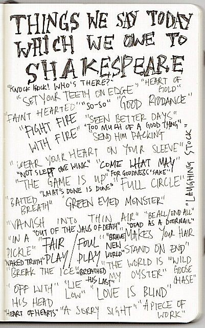 bookhermit:  Happy 449th Birthday to William Shakespeare!