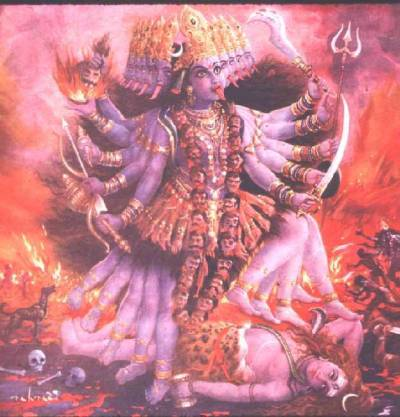 cretinstompers:  Kali is a Hindu Goddess who removes the ego and liberates the soul from the cycle of birth and death.
