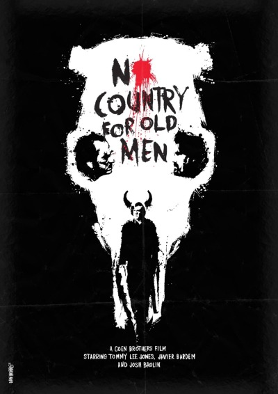 #91 - No Country for Old Men (2007), directed by Joel & Ethan Coen In my opinion - the greatest film of the last sixty-plus years. The Coens' adaptation of Cormac McCarthy's biblically-infused Western is a thriller like no other. There's no score. 101 Must-See Films