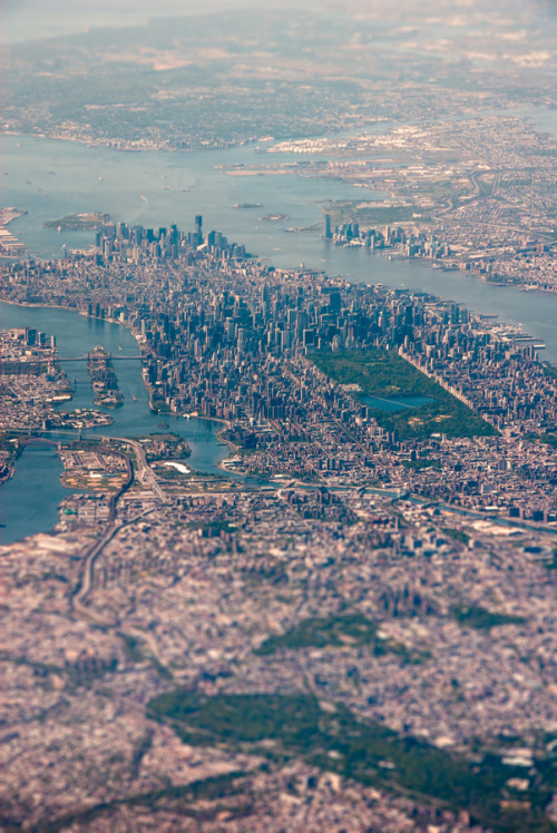 c1tylight5:  New York City Aerial #07 | Tim Sklyarov
