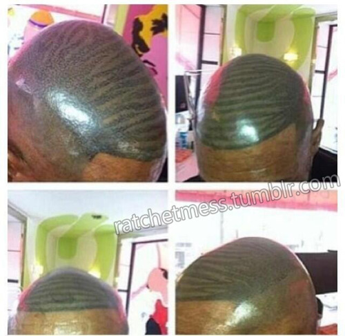 ratchetmess:  the hairline/waves struggle is so real niggas are tattooing it on