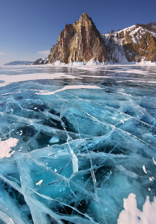 0rient-express:  Baikal Lake | by Yury Pustovoy.