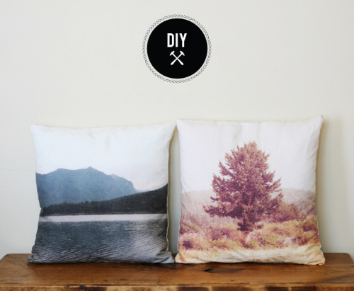 littlecraziness:  (via Poppytalk: DIY - Landscape Pillows)