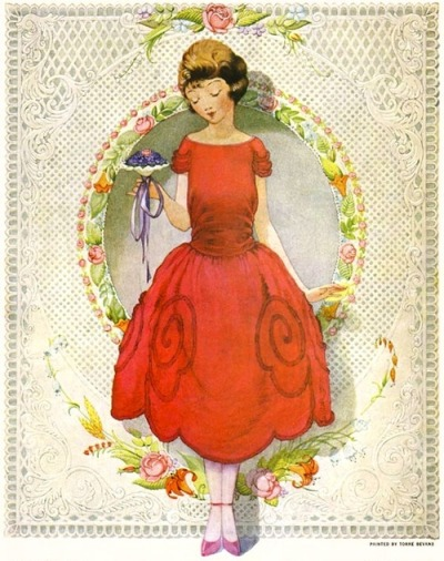maudelynn:  Cover art for Ladies Home Journal Feb 1922 via http://www.philsp.com