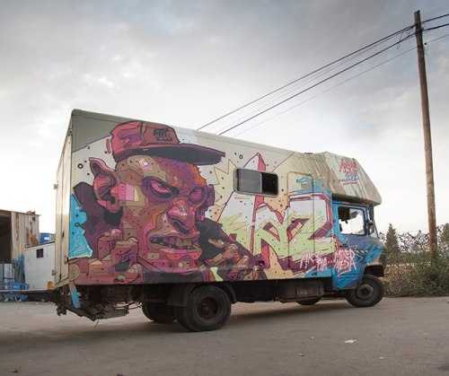 graffitishop:  Aryz
