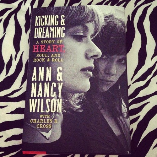 If you don't hear from me in the next few days…this is why! #annwilson #nancywilson #heart #heartmonger @heartofficial ❤