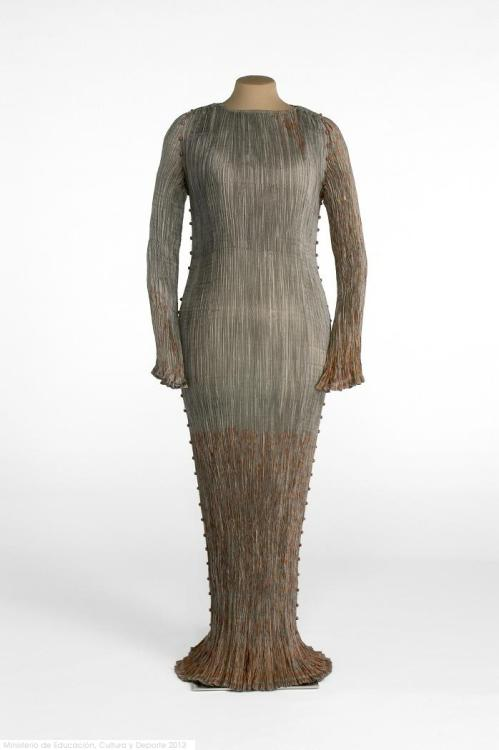 Dress Mariano Fortuny, 1920s-1930s Museo del Traje