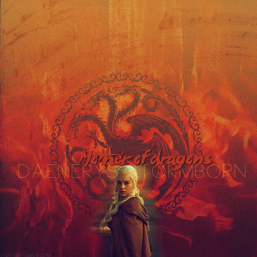 I am Daenerys Stormborn of House Targaryen, the Unburnt, Mother of Dragons, khaleesi to Drogo's riders, and queen of the Seven Kingdoms of Westeros.