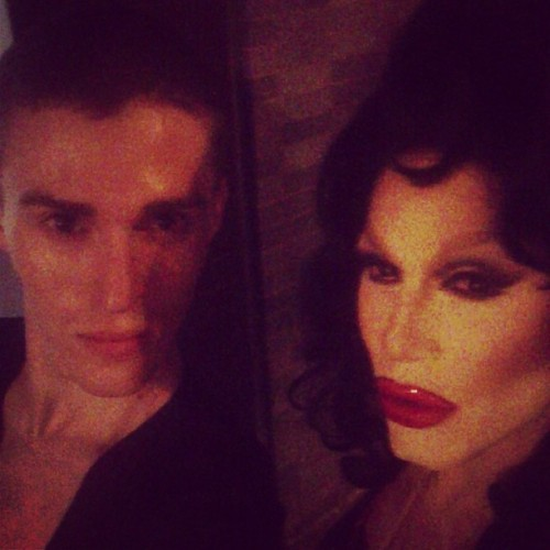 Sharon Needles and Judson Harmon