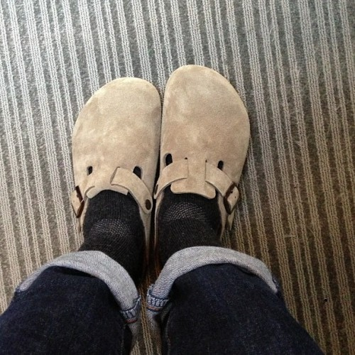 I'm bringing back Birkenstock clogs.
