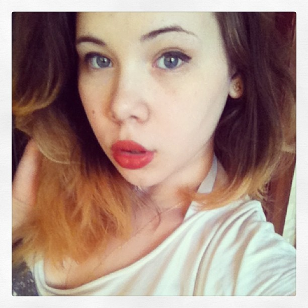 #girl #beauty #lips #lipstick #fashion #like #love