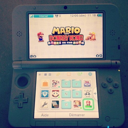 Mario & Donkey Kong: Minis On The Move - eShop Nintendo 3DS