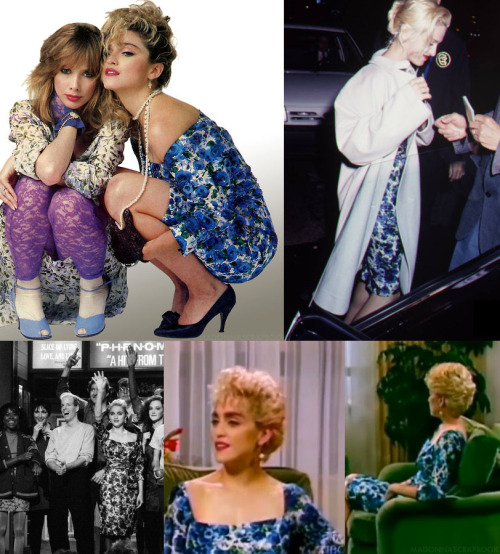 Madonna's Fabulous 50's Vintage 5 Dollar Thrift Store Dress 1985-1991