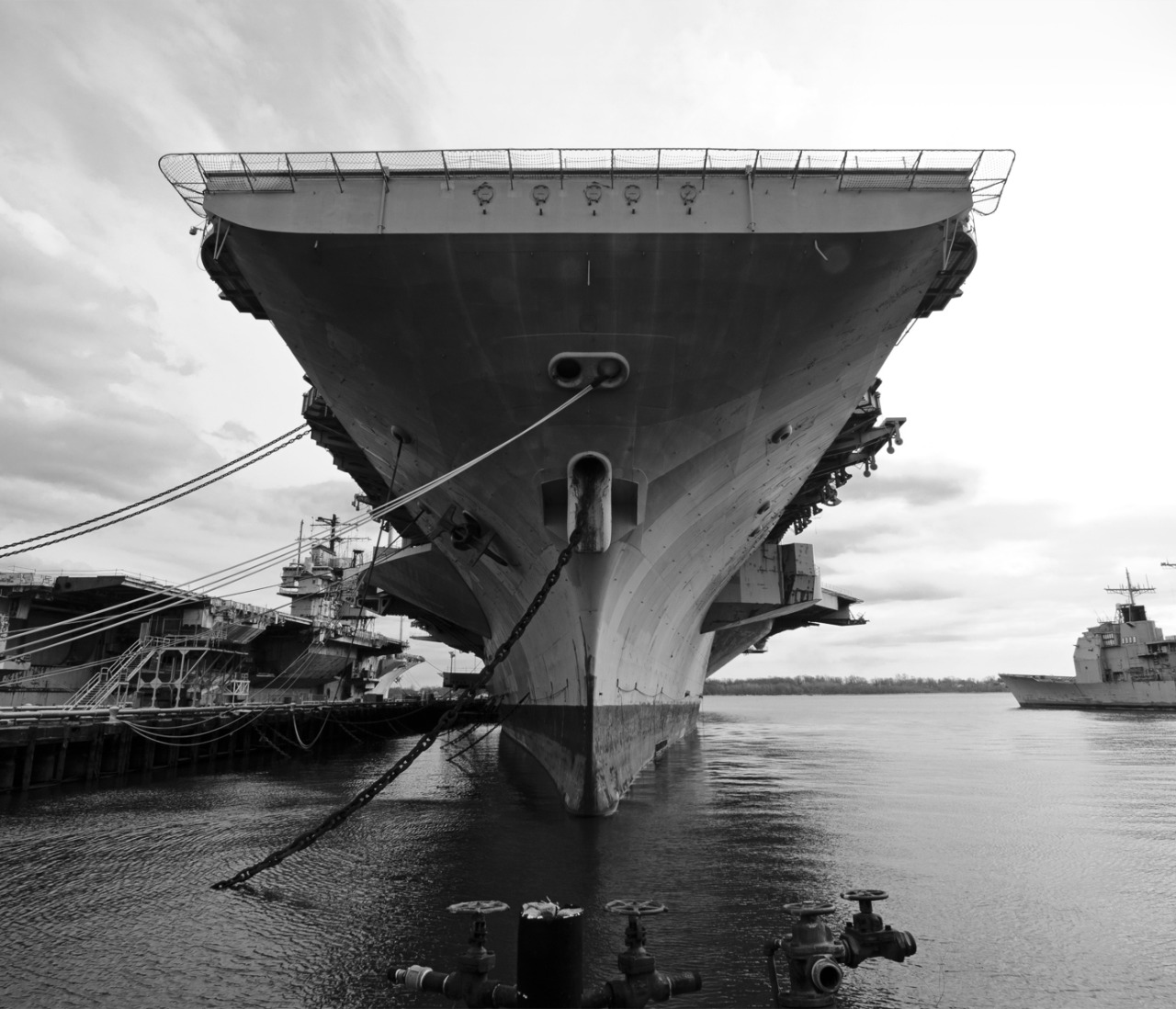 retired aircraft carrier JFK, philadelphia navy ship yard, 2013