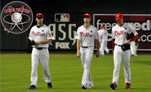 tookthecollar:  (via Core Values: Philadelphia Phillies - CBSSports.com)  After last night's Super Bowl I'm so excited for Baseball to start again. I hope we have a good season this year.