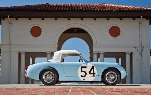 reignofmethanol:  1959 Austin-Healey Sebring Sprite.