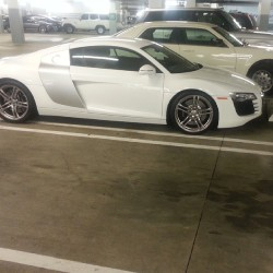 You guys like my new vehicle? #iwish #audi #r8