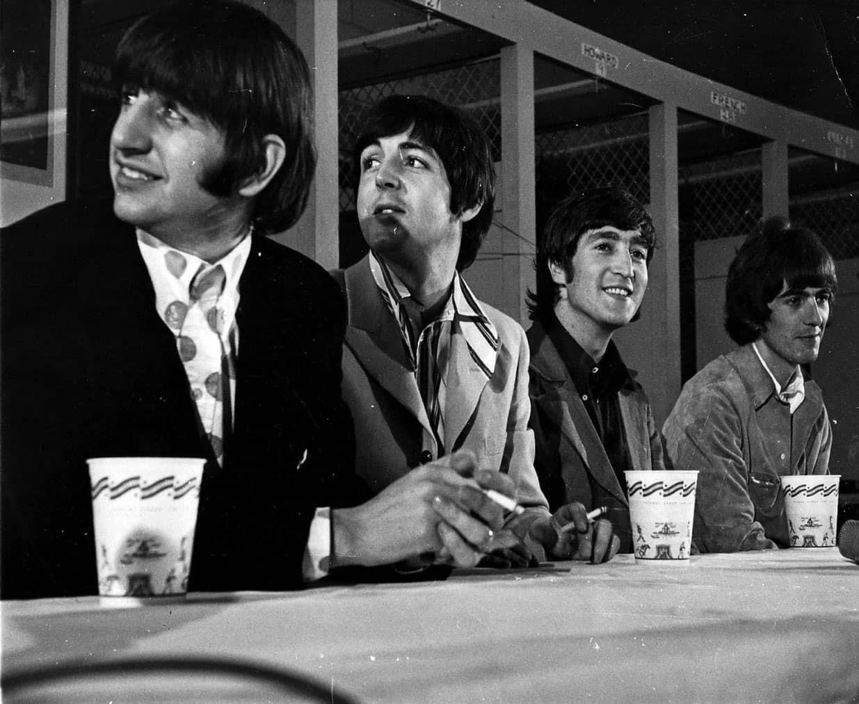 #cute#the beatles#beatles #rock and roll #john lennon#paul mccartney#George Harrison#ringo starr#rock music#rock#music#60s music#60s#classic rock #classic rock fandom #george#paul#john#ringo