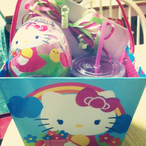 capnmoemoe:  my Easter basket! 😍💖⭐👍🎀  By far the cutest I've seen!!!!!!