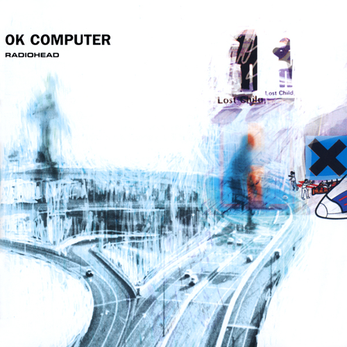 president-of-antarctica:  rollingstone:  On OK Computer, Radiohead take the ideas they had begun toying with on The Bends into the stratosphere. At a time when they could have played it safe, selling their psychedelic souls for more radio-friendly rock & roll, Radiohead have released a concept album whose theme — based on rock's age-old fear of the imminence of a world run by computers — unfolds gradually during the course of the album's 12 songs. OK Computer was released 16 years ago today.  Ok Computer came out when I turned 1?? that's some cool shit