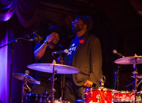 @Questlove & D'Angelo at BK Bowl! (click pic for story)